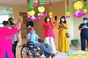 Indian Cultural Program - Embassy Manor at Edison Nursing and Rehabilitation